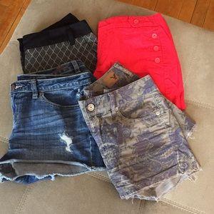 Shorts, LC Lauren Conrad, Merona, AE,